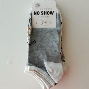 LA Express No Show Socks